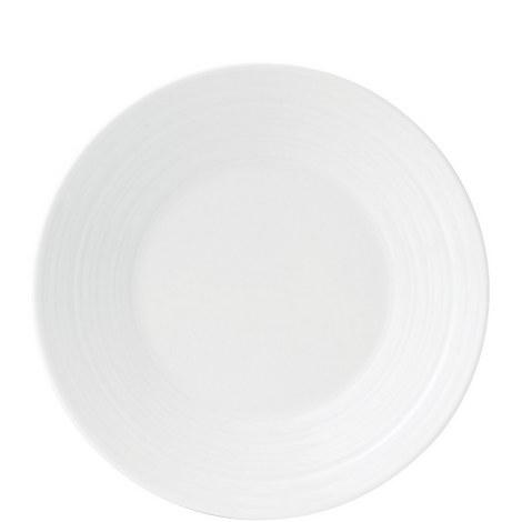 Jasper Conran White Strata Plate 18cm, ${color}