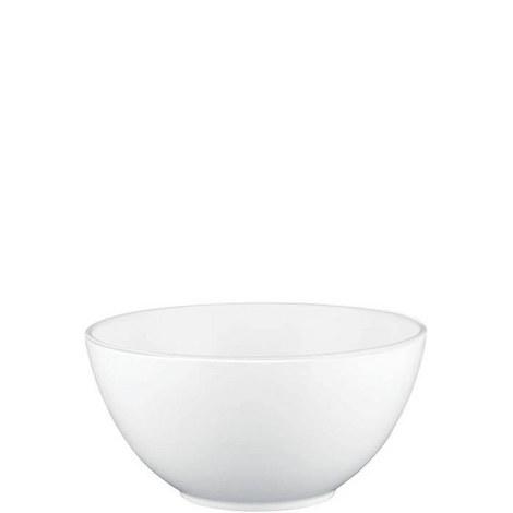Jasper Conran White Salad Bowl 20cm, ${color}