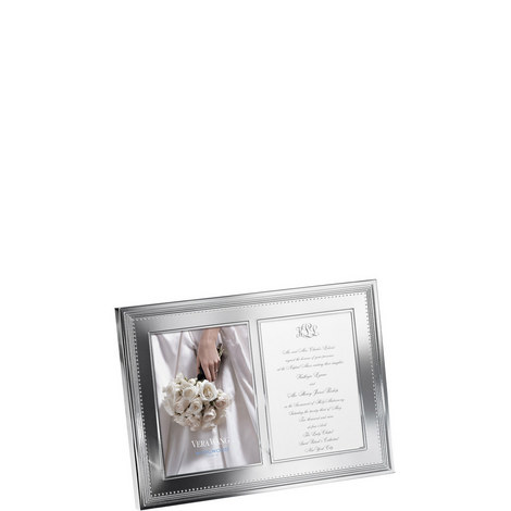 Double Invitation Frame 5 x 7in, ${color}