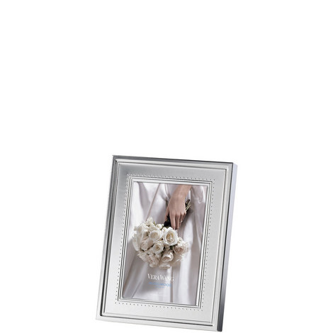 Vera Wang Grosgrain Photo Frame 4 x 6in, ${color}