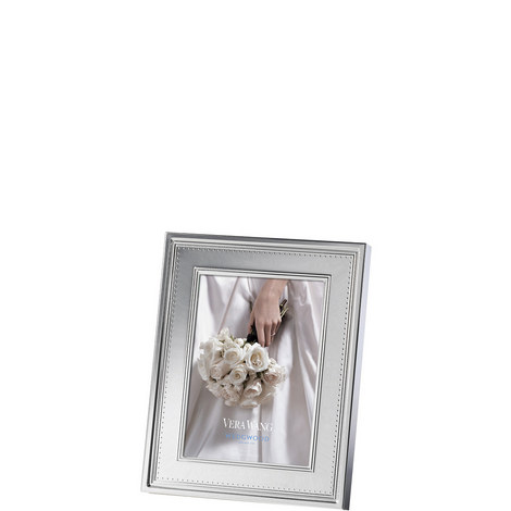 Vera Wang Grosgrain Photo Frame 5 x 7in, ${color}