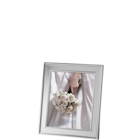 Vera Wang Grosgrain Photo Frame 8 x 10in, ${color}