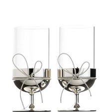 Vera Wang Love Knots Tea Light Holder Set of Two