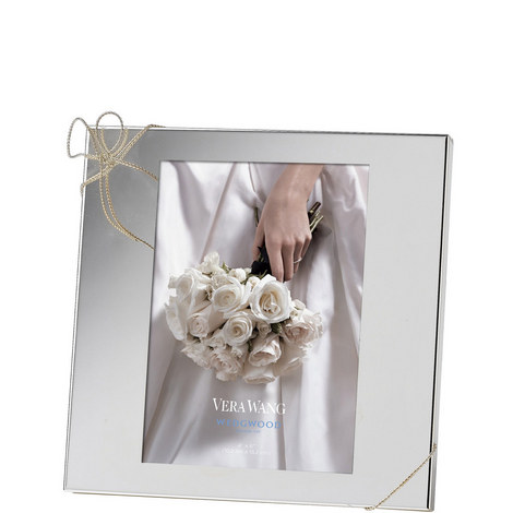 Vera Wang Love Knots Small Photo Frame, ${color}