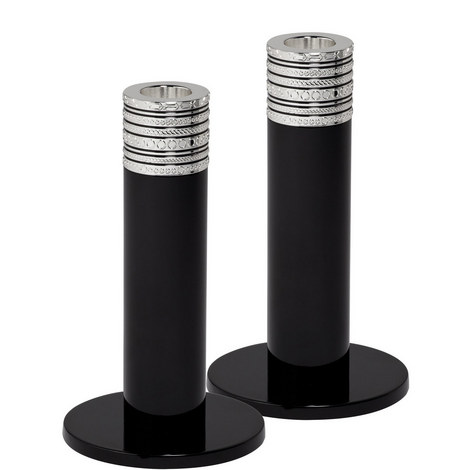 Vera Wang With Love Noir Candlesticks (Set of 2), ${color}