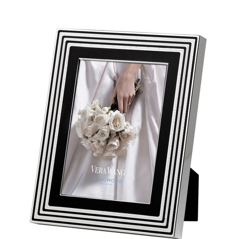 Vera Wang With Love Noir Medium Photo Frame, ${color}