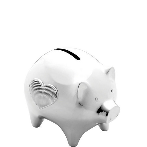 Vera Wang Baby Silver Plated Piggy Bank, ${color}