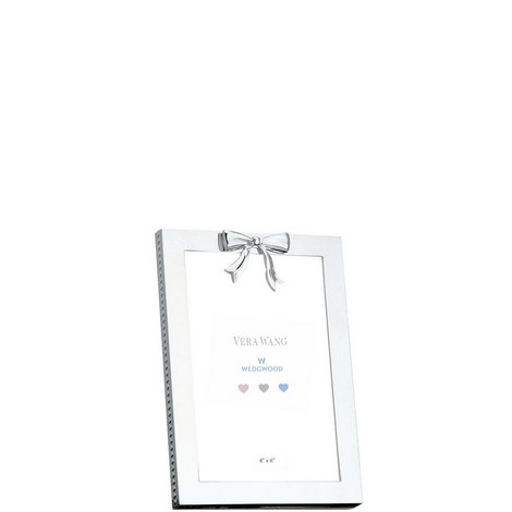 Baby Silver Photo Frame 4 x6 in, ${color}