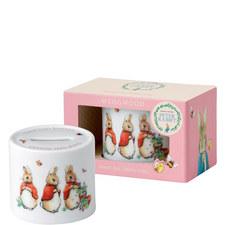 Peter Rabbit Girls Money Box