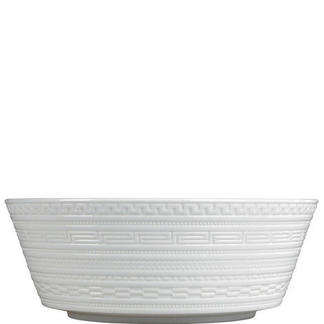 Intaglio Round Serving Bowl, ${color}