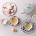 Cuckoo Teacup and Saucer, ${color}