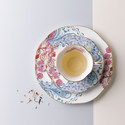 Butterfly Bloom Teacup and Saucer, ${color}