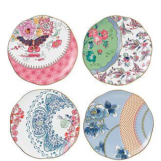 Butterfly Bloom Tea Plate