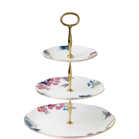 Butterfly Bloom Cake Stand, ${color}