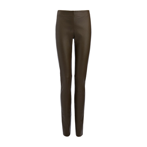 Leather Stretch Leggings, ${color}