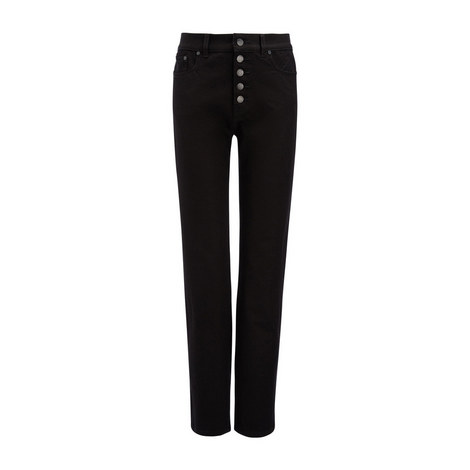 Gabardine Den Stretch Trousers, ${color}