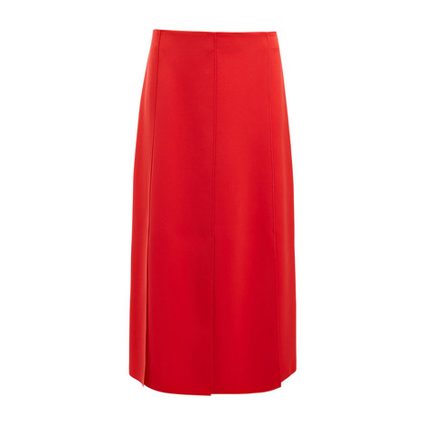 Stretch Flou Lark Skirt, ${color}