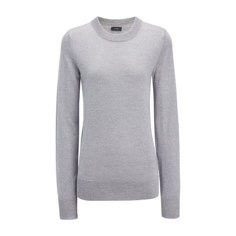 Lurex Knit Sweater, ${color}