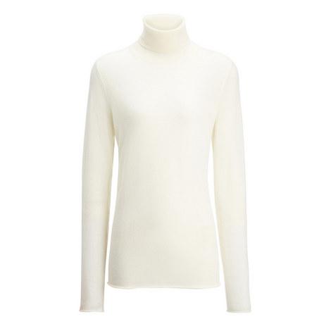 Fine Merinos Roll Neck Sweater, ${color}