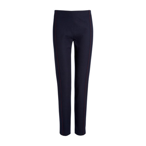 Gabardine Lenny Stretch Leggings, ${color}