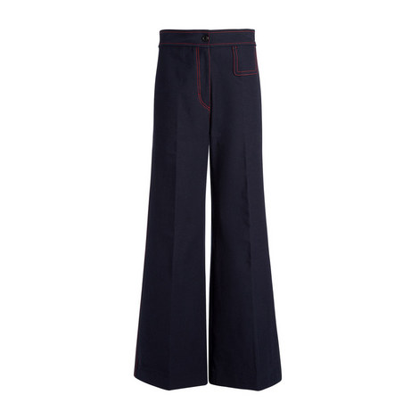 Gabardine Doni Stretch Trousers, ${color}