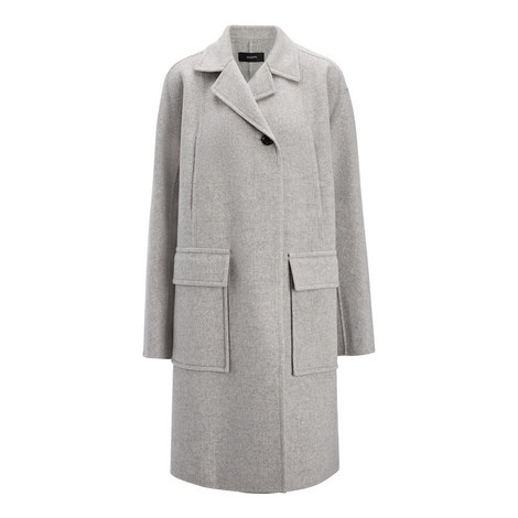 Double Wool Caplan Coat, ${color}