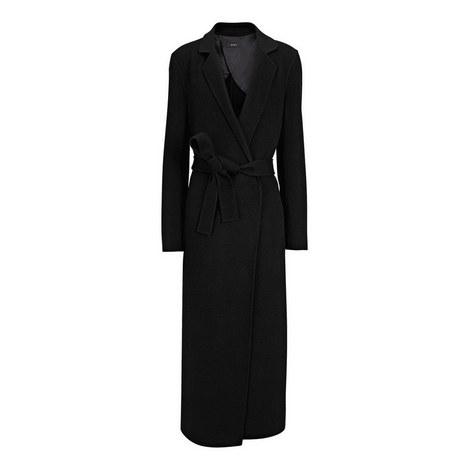 Kido Cashmere Wrap Coat, ${color}