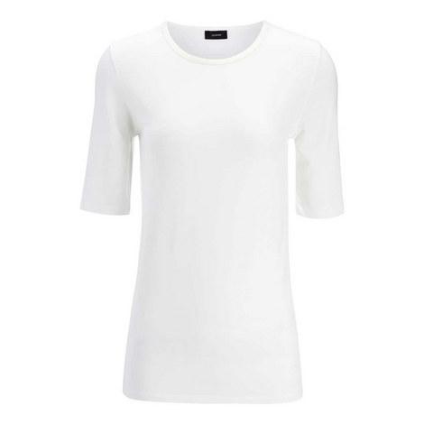 Cotton Stretch Top, ${color}