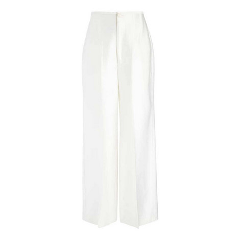 Brodie Double Satin Trousers, ${color}