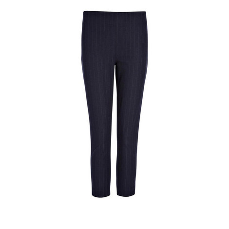 Tony Pinstripe Cropped Trousers, ${color}