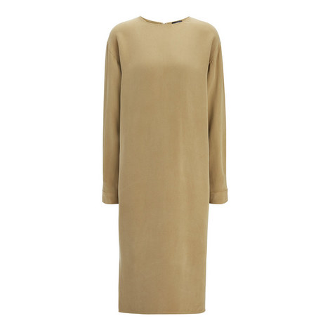 Ray Matt Silk Dress, ${color}