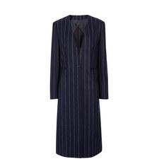 Laure Jumbo Stripe 100 Coat