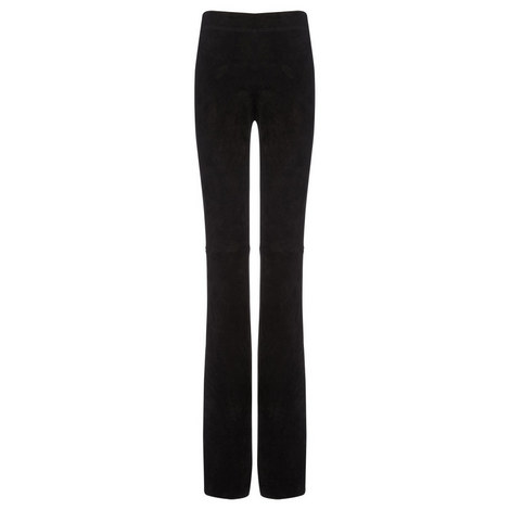 Lex Suede Stretch Trousers, ${color}