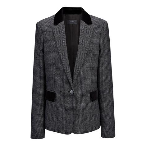 Prisca Prince of Wales Jacket, ${color}