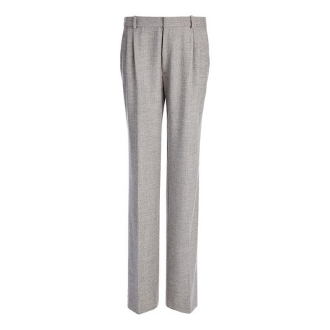 Garland Wool Mélange Trousers, ${color}