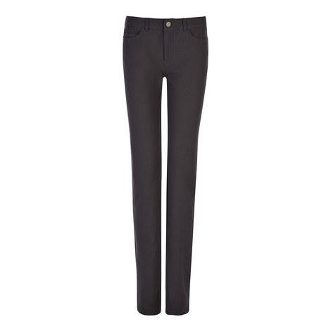 Gabardine Stretch Trouser, ${color}