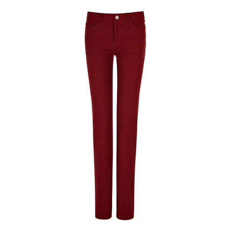 Gabardine Nino Stretch Trousers, ${color}