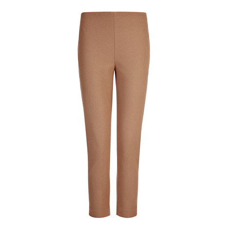 Gabardine Tony Cropped Trousers, ${color}