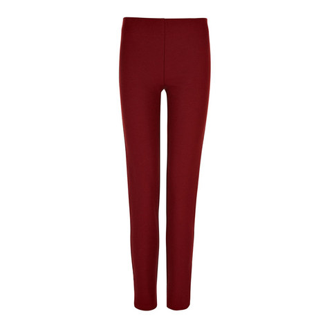 Gabardine Stretch Leggings, ${color}