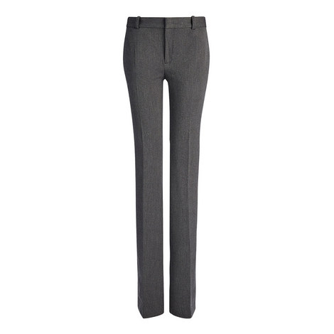 Herringbone Rocket Stretch Trousers, ${color}
