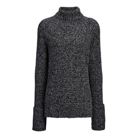 Wool Melange Turtleneck, ${color}