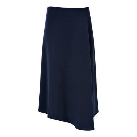 Paloma Crepe Marocain Skirt, ${color}