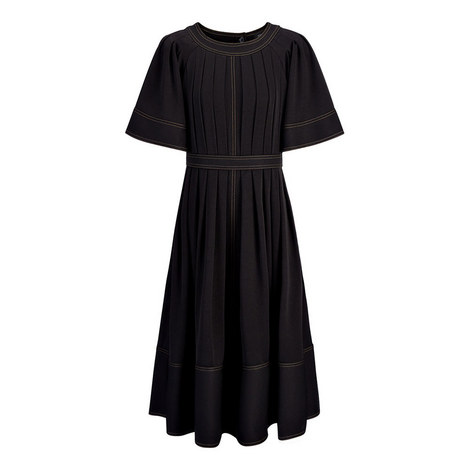 Cole Satin Stretch Dress, ${color}
