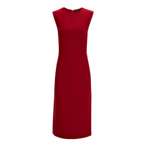 Sadie Stretch Crepe Dress, ${color}