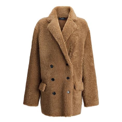 Ringo Curly Merino Sheepskin Coat, ${color}