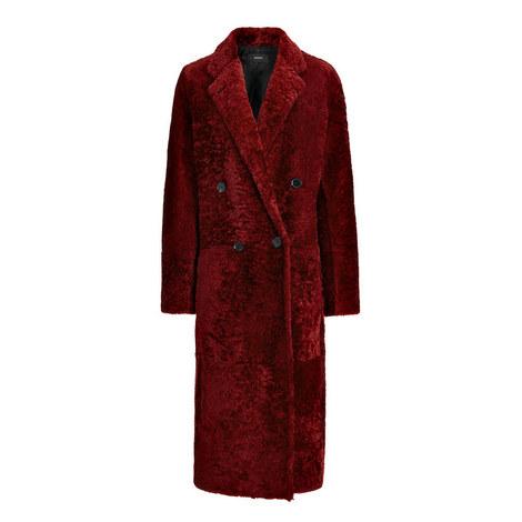 Blazz Velvet Merino Coat, ${color}