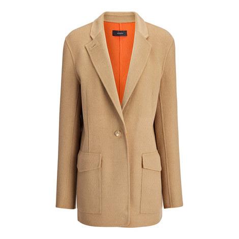 Roma Cashmere Jacket, ${color}
