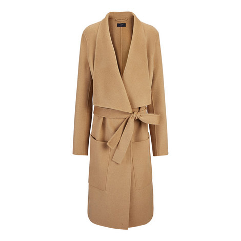 Wrap Cashmere Coat, ${color}