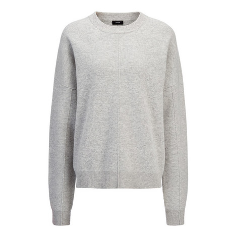 Compact Boiled Wool Sweater, ${color}