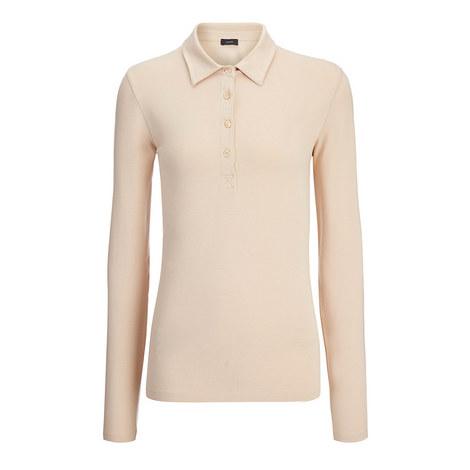 Cotton Lyocell Polo Shirt, ${color}